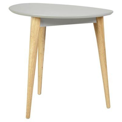 Charming Pebble Side Table Grey