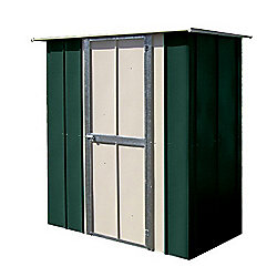 Store More Canberra 6x3 Utility Metal Shed Federation Green