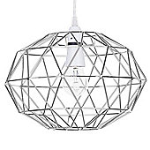 Geometric Easy Fit Ceiling Light