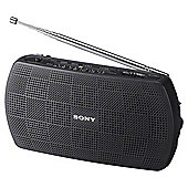Sony SRF18B.CE Portable FM/AM Radio, Black