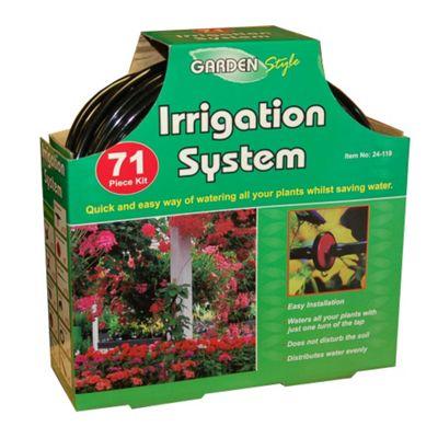 71 Piece Garden Water Irrigation Watering System