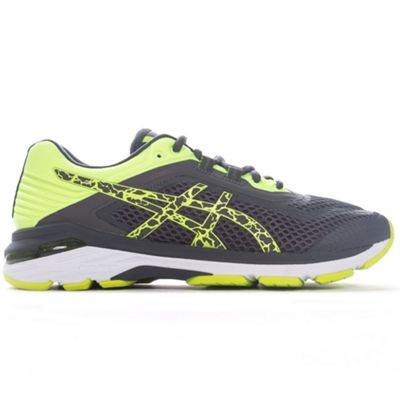 Asics Gel GT-2000 6 Lite-Show Mens Running Trainer Shoe Grey - UK 8