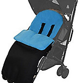 Footmuff For Mountain Buggy Duo/Duet/One/Jungle/Swift Turquoise