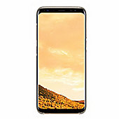 Samsung Galaxy S8 Clear Cover - Gold