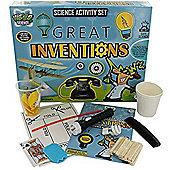 Grafix Weird Science Activity Set Great Inventions