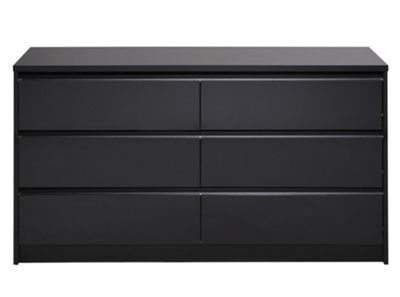 Parisot Dark 6 Drawer Chest