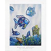Marcus Pfister Rainbow Fish and Friends Mini Print 24x30cm