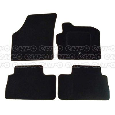 Tailored Car Mat Set (Black) Landrover Freelander 06> (4 Pc)