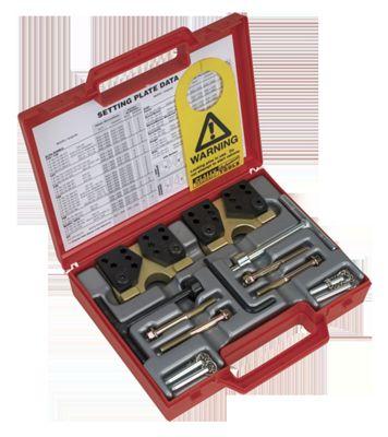 Sealey VS4910 - Petrol Engine Al-Fi Camshaft Setting Plate Kit - Alfa Romeo 1.4, 1.6, 1.8, 2.0 Twin Spark, 2.0JTS - Belt Drive