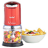 VonShef Mini Chopper in Red