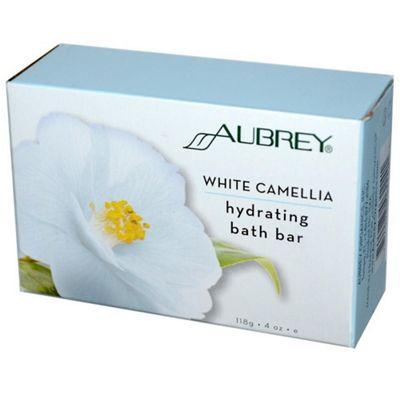 Solaray White Camelia & Jasmine Bar Soap