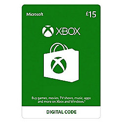 Xbox Live £15 GBP  Xbox One (Digital Download Code)