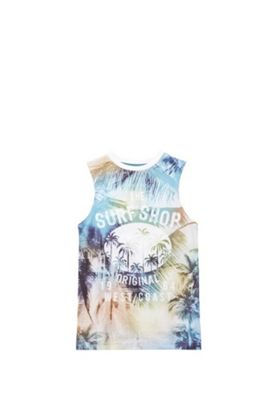 F&F Tropical Surf Shop Vest Top Multi 5-6 years