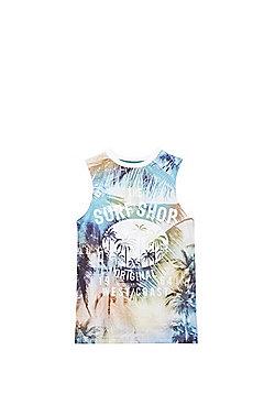 F&F Tropical Surf Shop Vest Top - Multi