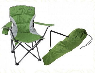 Summit Malvern Padded Chair Green