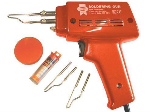 Faithfull SGK Solder Gun 100 Watt 240 Volt