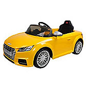 Rastar 12V Audi TT Ride On Car Yellow