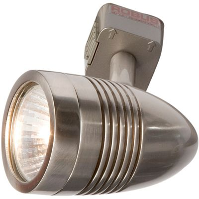 Robus 50W Acorn Track Spotlight - Brushed Chrome