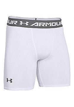 Under Armour HeatGear Armour Compression Baselayer Short - White