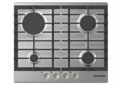 Hoover HGH64SCEX 60cm Stainless Steel Gas Hob