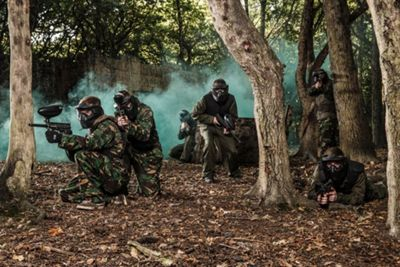 Paintballing for Four - Weekends