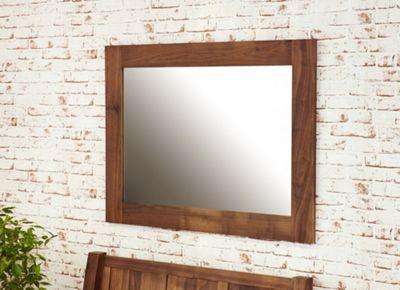 Mayan Walnut Medium Mirror Brown - Baumhaus