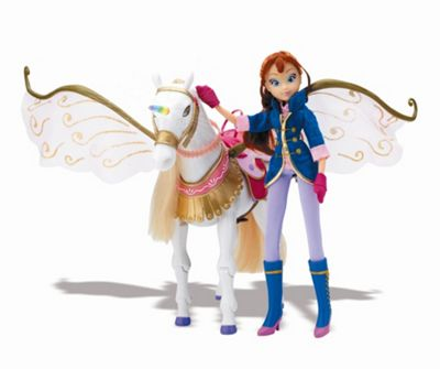 Winx Club - Bloom and Peg