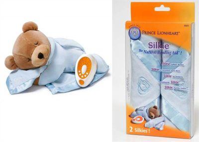 Prince Lionheart Bundle Slumber Bear Plus Blue and Replacement Silkie Blue