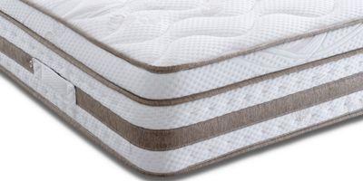 Land Of Beds Cheshire 2000 Single Mattress - Medium/Firm