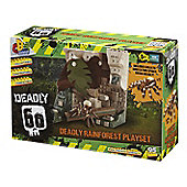 Deadly 60 Deadly Rainforest Playset With Goliath Spider