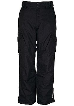 Salen Mens Waterproof Breathable Snowboarding Skiing Ski Pants Trousers - Black