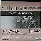 Daler Rowney Heavyweight Square Jumbo Pad - Art Store