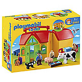 Playmobil 123 My Take Along Farm