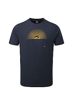 Mountain Equipment Mens Prism T-Shirt - Blue