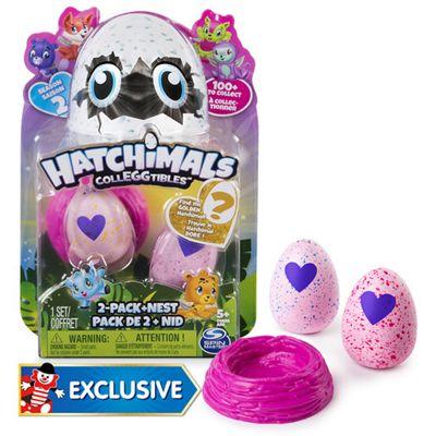 Hatchimals CollEGGtibles Season 2 - Two Pack + Nest