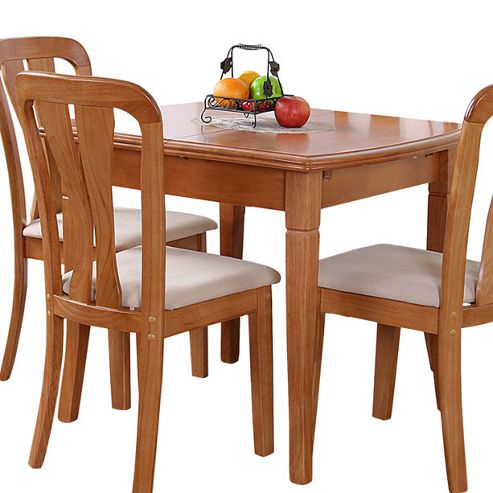 G&P Furniture Lincoln Extending Dining Table - Maple