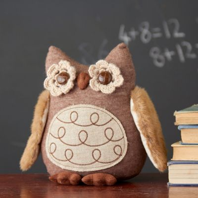 Fabric Wise Owl