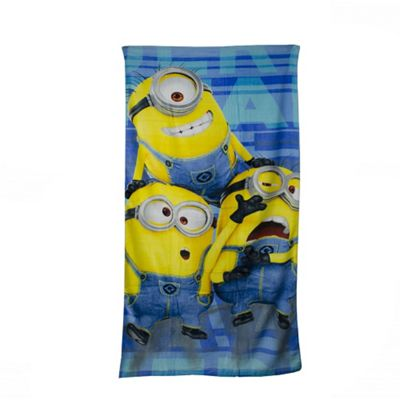 Character Minions Printed 100% Cotton Beach Towel