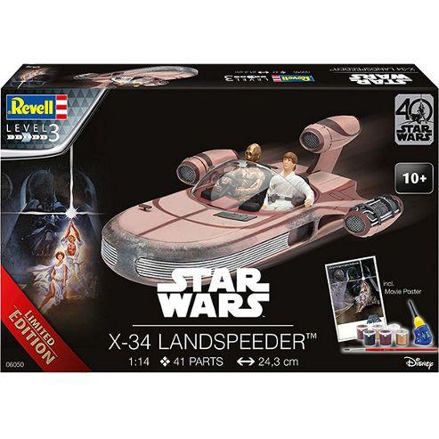 REVELL X-34 Landspeeder Star Wars - 40 Years 1:14 Space Model Kit