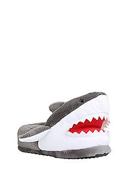 F&F Shark 3D Slippers - Grey