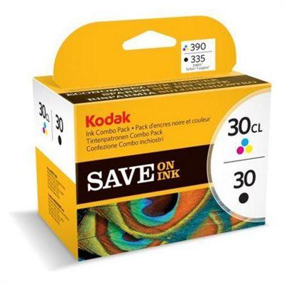 Kodak Printer ink cartridge for ESP 1.2 3.2 3.2s C110 - Black Cyan Magenta