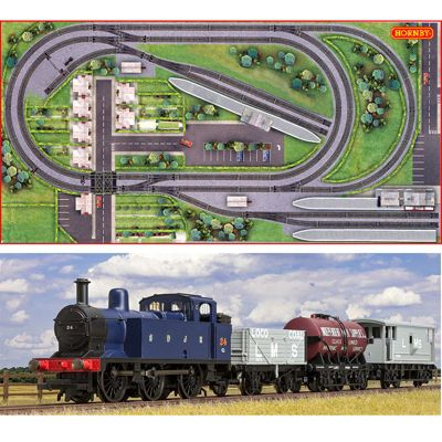 HORNBY Digital Train Set HL2 Jadlam Layout with Train - fits on 8x4ft Board