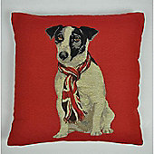 Mason Grey Ray Red Cushion Cover - 43x43cm