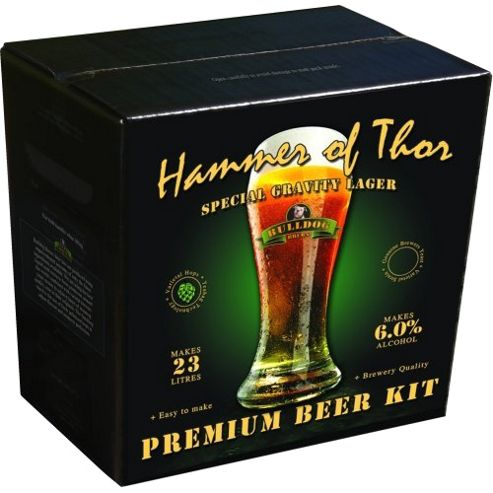 Bulldog Home Brew Kit - Hammer Of Thor - Lager