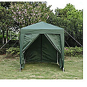Outsunny 2m x 2m Garden Heavy Duty Pop Up Gazebo Marquee Party Tent Green