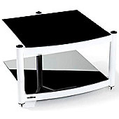 Atacama Equinox 2 Shelf Hi-Fi Stand Diamond White Frame