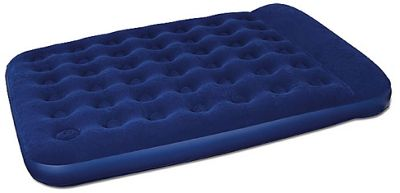 easy inflate flocked double air bed