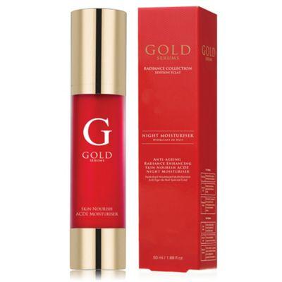 Gold Serums Anti-Ageing Radiance Enhancing Skin Nourish ACDE Night Moisturiser 50ml