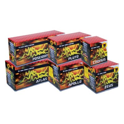 Battalion Barrage Pack Fireworks Selection Box