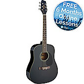 Stagg Dreadnought Acoustic Guitar - Black